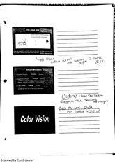 notes on color blindness
