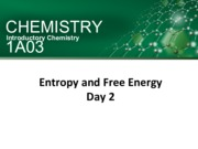 Entropy and Free Energy-Day2-posted