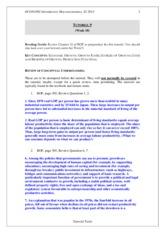 macroeconomics tutorial test essay Macroeconomics potential exam essay questions video covering the potential essay questions that may feature in your.