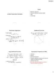Slides Econ140A Limited Dependent Variables