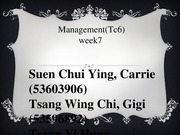 Managent TC6 W7 Group5