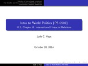 PS0500_LectureSlides15_International Financial Relations
