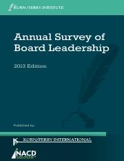KF NACD Annual Survey of Board Leadership 2013_0.pdf