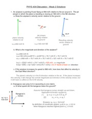 PHYS40A_Week2DiscussionSolutions