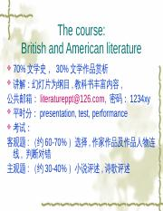 a general portrait of Britishliterature(part1).ppt