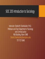 SOC 205 Introduction to Sociology Power Point Lectures(1).ppt