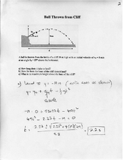Online Homework 2 Solutions