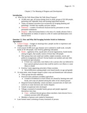 Chapter 2: The Meaning of Progress and Development (Study Notes)