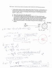 Fall 216IN Exam 1 solutions