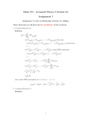 MATH 471-Assignment 7 solution.pdf