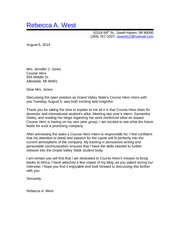 Follow up Letter