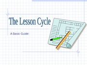 lesson cycle