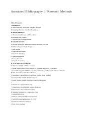 Annotated Bibliography of Research Methods.docx