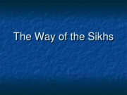 The_Way_of_the_Sikhs