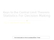 centrallimittheoremlecture