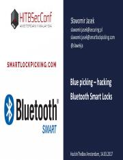 HITB_AMS_2017_Blue_Picking_-_Hacking_Bluetooth_Smart_Locks.pdf