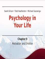 CH9PSYLIFE_Lecture PPTpost.ppt