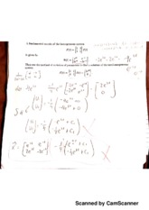 MATH 4B Quiz 8 with Answers