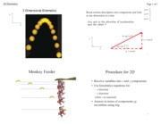 2D Kinematics (Notes 4)