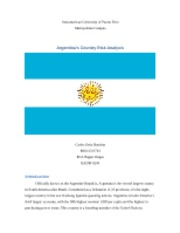Argentina Country Risk Analysis