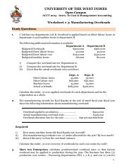 Work Sheet #3_ Accounting For Manufacturing Overhead.pdf