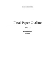 law-final-outline