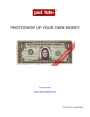 Photoshop Up Your Own Money