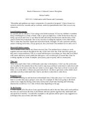 Week 4 Discussion 1 Cultural Context.docx