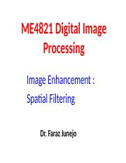 Lecture 6b Sp Filtering Img Smoothing