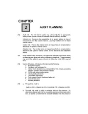 Chapter02 - Audit Planning.unlocked