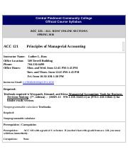 SYLLABUS ACC 121-ONLINE SECTIONS-SPRING 2016(1)(1)-1