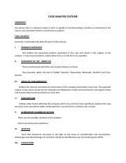 CASE ANALYSIS OUTLINE.doc