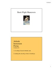 Basic Flight Maneuvers [Compatibility Mode]