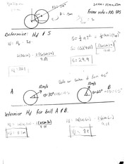Projectiles Exam 2 Homework