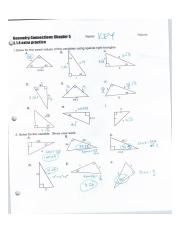 Right Triangle Trig Worksheet Picture Special Right Triangles Worksheet Answers Inspirational Right Period 2 Solve For The Variable Show Your Work A Course Hero