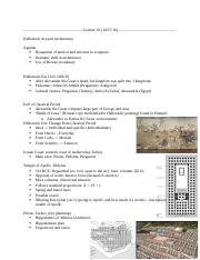 ARTHI 6A Lecture Notes