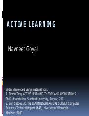 Active Learning NG