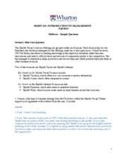 Fall 2013 SAMPLE_MIDTERM_MGMT101