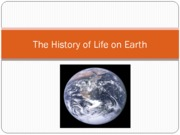 History of Earth HB