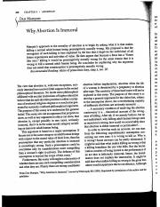 why abortion is immoral don marquis summary