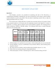 [Additional problems] - Decision analysis.pdf