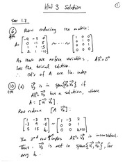 Homework 3 on Linear Algebra Fall 2014