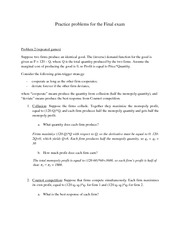 Practice final answers problem 2