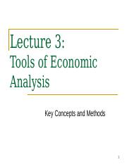 Lecture 3 - Tools Of Economic Analysis 2014.ppt