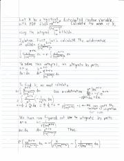 Logarithmic PDF Mean Calculation