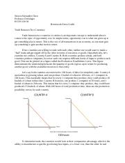 Econ Study Document - Trade Between Countries - SAC.docx
