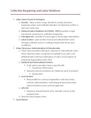 Collective Bargaining and Labor Relations.docx