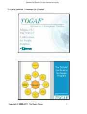 Togaf 9 Foundation Study Guide Pdf