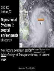 22_Depositional systems II_posting