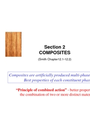 Section 2B Ccomposites
